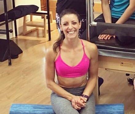 Elissa pilates reformer instructor Eastside Yoga and Pilates
