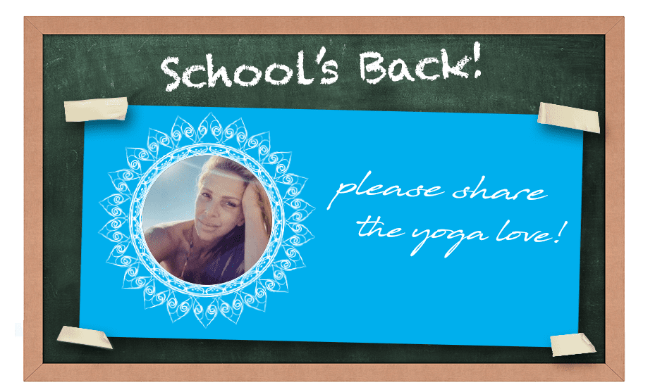 school's back please share the yoga love adelaide yoga pilates